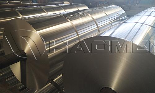 Rolls of aluminium foil 8011 alloy